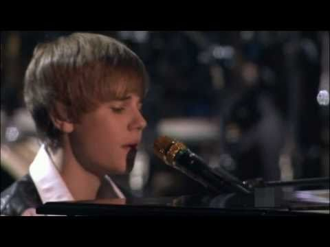 Justin Bieber - pray  (hd) Ama Music Awards 2010 Performance Live video