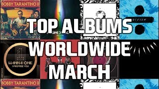 Top Selling Albums Worldwide - March 2018