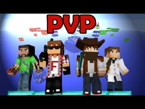 ПВП Сражения в Minecraft - MIXED DESTRUCTION