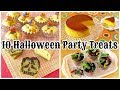 10 Best Halloween Party Treats (Cute, Fun, and Easy Recipes) | OCHIKERON | Create Eat Happy :)