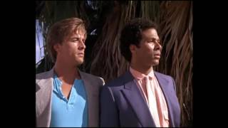 Miami Vice. The world of two partners
