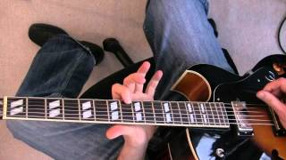 "Swing Jazz Guitar Lesson - Charlie Christian style solo to ""Six Appeal"" pt.2 solo"