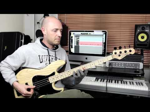 James Jamerson Bass Lines - Get that 'Vintage Tone'! (L#72)