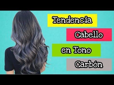 Tendencia Cabello en tono Carbón | Charcoal Hair