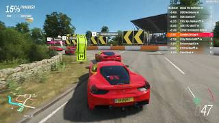 Forza Horizon 4 - Is this the best sounding Ferrari? 488 GTB in S1-Class [Ranked Adventure]