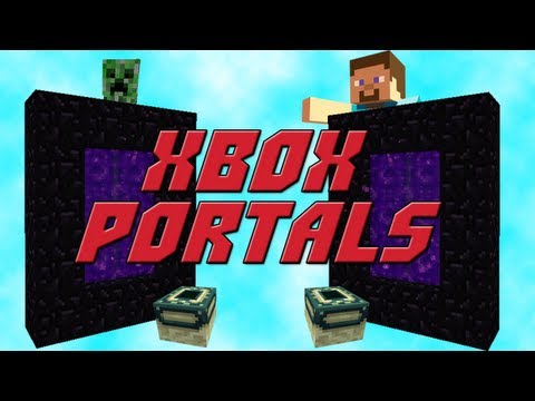 Xbox Minecraft How To : Make Portals! (Ender and Nether)