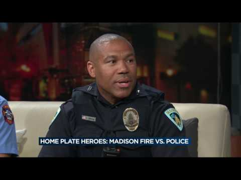 Madison's finest trade in badges for baseball caps this weekend