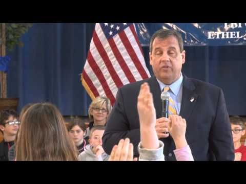 Governor Christie Takes Questions From LBI Grade School Students klip izle
