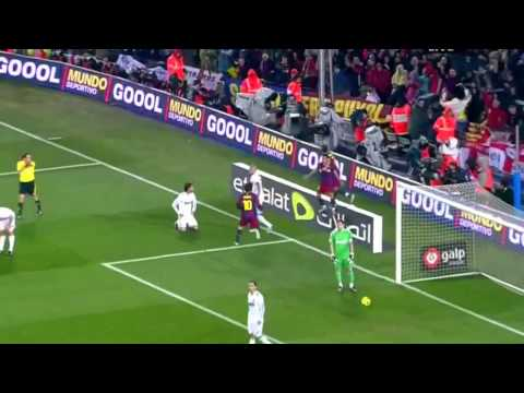 Barça 5x0 Real (Barça humilha o Real Madrid ) HD