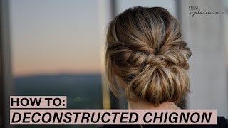 HOW TO: Deconstructed Chignon   Kenra Platinum
