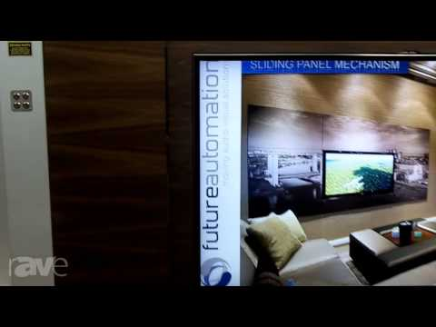 InfoComm 2013: Future Automation Demos SPS800/SPS1000 Sliding Panel Mechanisms