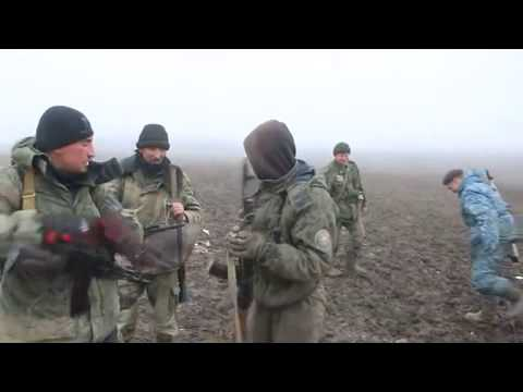 DNR troops on combat positions under Debaltseve 14 02 2015 Ukraine War,News Today!