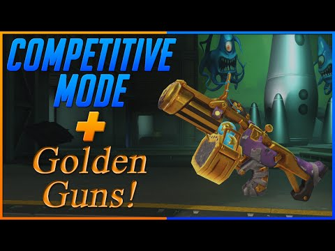 New Competitive Mode + Golden Guns In Public Test Client!