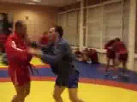 Fedor Training for Sambo Tournament 2007.flv Image 1