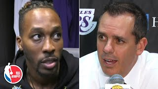 Dwight Howard, Frank Vogel pleased after Lakers' preseason win vs. Warriors | NBA on ESPN