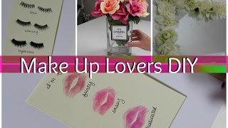 Make Up Lovers DIY Room Decor