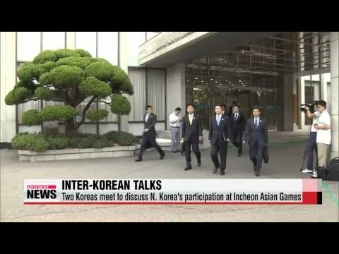 Koreas meet to discuss N. Korea's participation in Incheon Asian Games