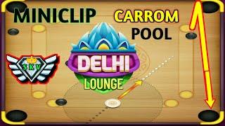 1st GAME PLAY CARROM POOL DELHI MINICLIP GAME