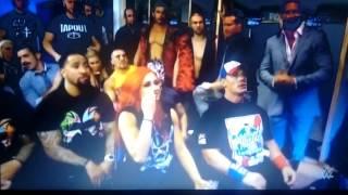WWE-Battleground 2016-Triple Amenaza-Dean ambrose(C) VS Seth Rollins VS Roman Reigns-Mejores Momento