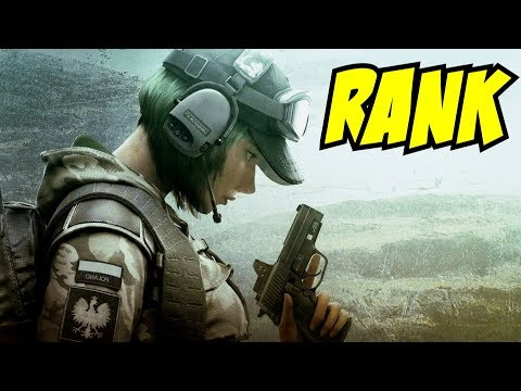 Rainbow Six Siege Gameplay Rank to Diamond Blood Orchid TTS