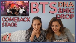 BTS COMEBACK SHOW #1 - DNA & MIC DROP REACTION