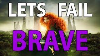 Lets Fail BRAVE | 34 Wrongs in the Disney/Pixar Movie | Mistakes, Goofs & Plotholes