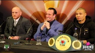 [HD] GEORGE GROVES VS CHRIS EUBANK - FULL PRESS CONFERENCE