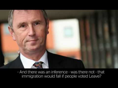 Nigel Evans: immigration will not fall