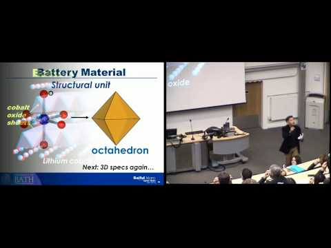 Saiful Islam, Crystal Gazing for Clean Energy: Batteries Included - Ignite University of Bath #5