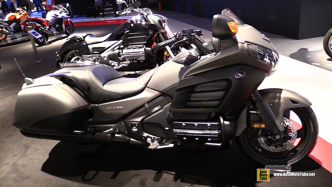 honda gold wing fb  anniv edition walkaround  eicma milan motorcycle