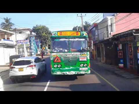 Matale full Bus Pisso... Green Jet Liner Speed Leed...