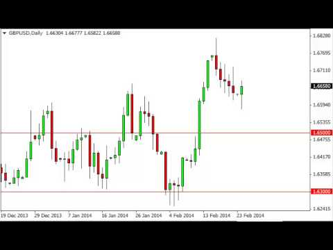 GBP/USD Technical Analysis for February 25, 2014 by FXEmpire.com