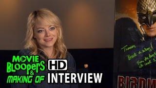 Birdman (2014) Emma Stone (Sam) Interview