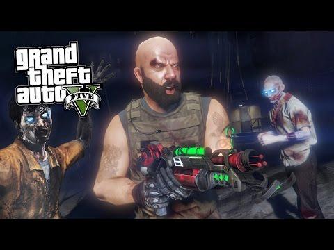 GTA 5 Mods - CALL OF DUTY ZOMBIES MOD w/ MYSTERY BOX, PERKS & WONDER WEAPONS!! (GTA 5 Mods Gameplay)