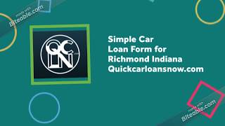 Low Credit Car Loans in Richmond Indiana - Low Payment Car Loans in Richmond IN