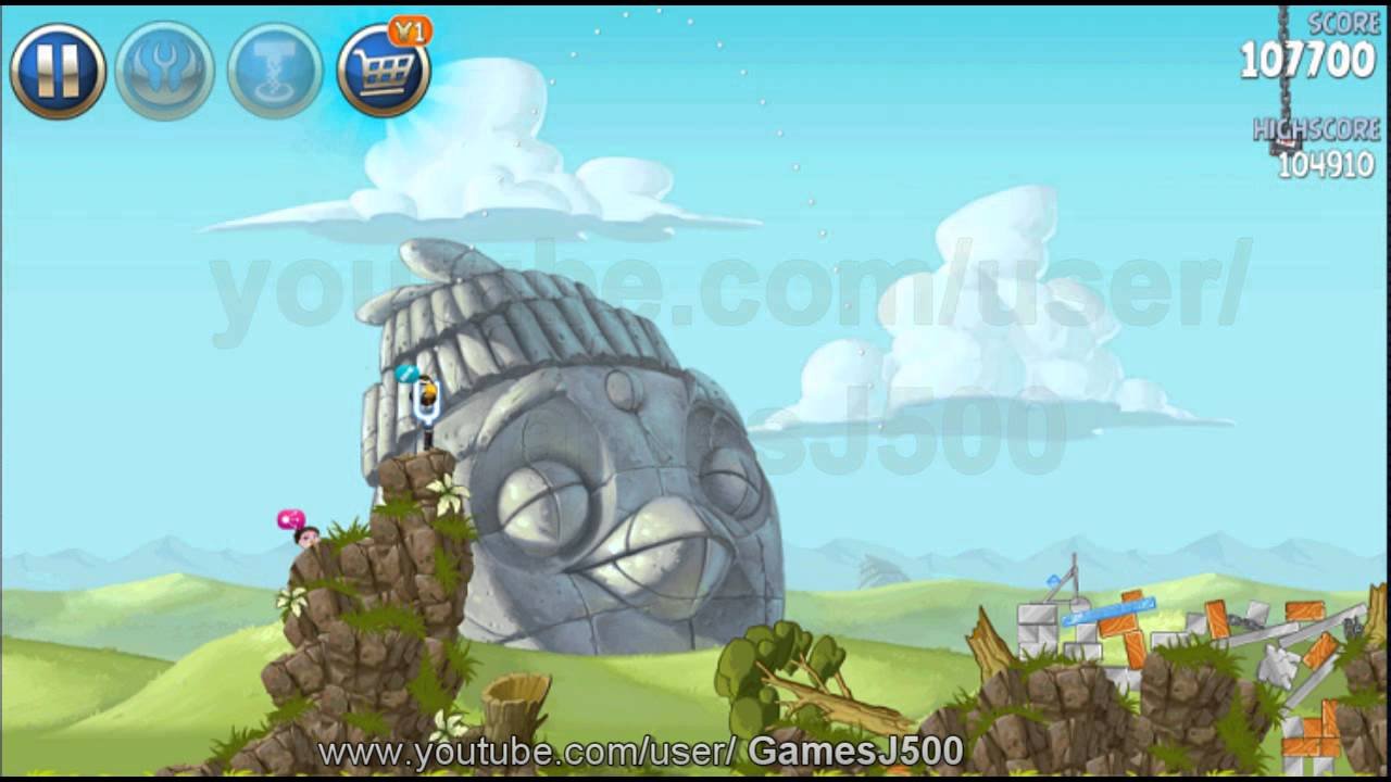 Angry Birds Star Wars 2- Level B3-3 Battle of Naboo ...