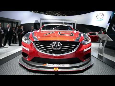 Mazda6 Grand-Am Racecar - Detroit 2013 Walkaround