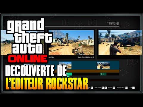 DECOUVERTE DE L'ÉDITEUR ROCKSTAR ! - GTA 5 ONLINE