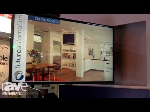 Integrate 2016: Future Automation Demos the Picture Lift and FSA90 on the Canohm Stand