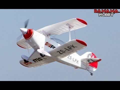 FMS Pitts Bi-Plane Flight Review with Pete HD