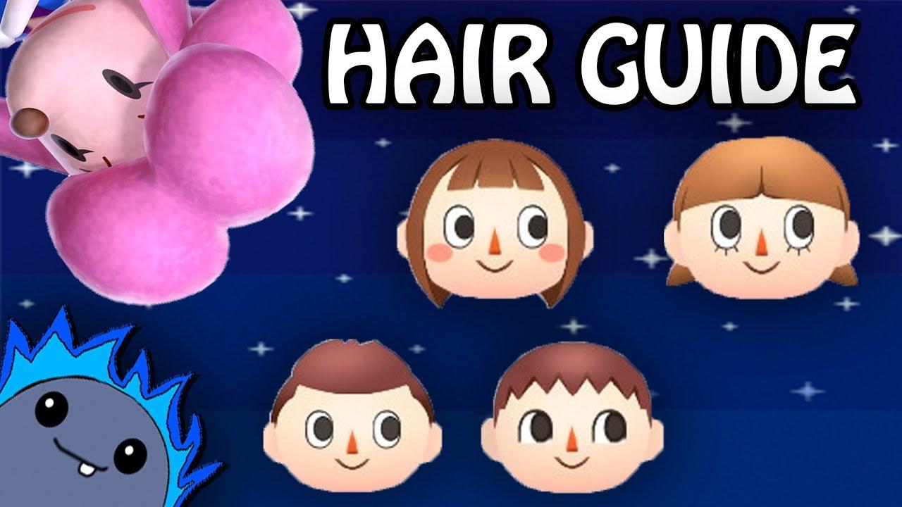 Hair Guide Animal Crossing New Leaf Youtube