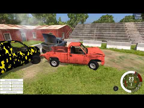 BeamNG.Demolition - The Final Trip for trusty Blazer