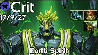 Support Crit [EG] plays Earth Spirit!!! Dota 2 7.20