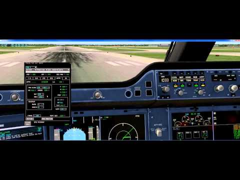 x plane 10 flight factor a350 cold and dark kdtw to kind p1