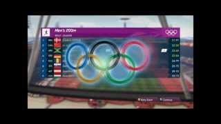 London 2012: The Official Video Game of the Olympic Games- JAMAICA*DAY ONE*