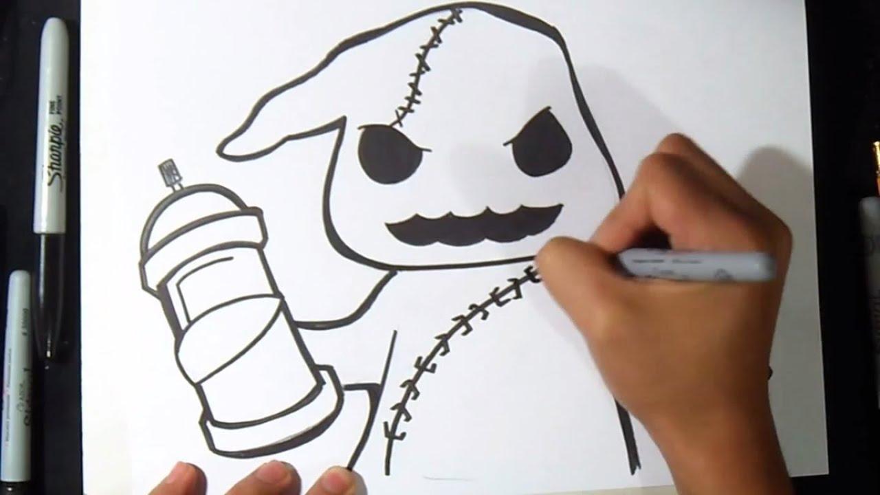 Comment dessiner un fant me graffiti youtube - Dessiner un fantome ...