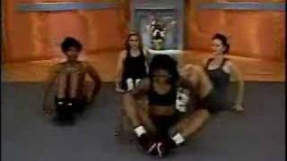 LADY FARTS ON LIVE WORKOUT TAPING! LOL