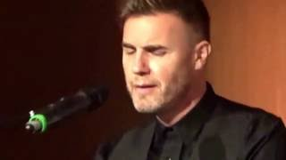 Gary Barlow - Forever Love - Charity Lunch CBUK, Hilton Hotel Manchester
