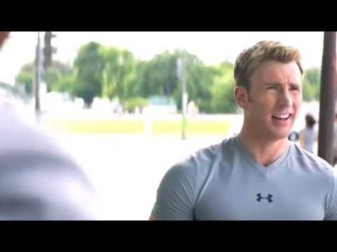 captain america | crack!vid