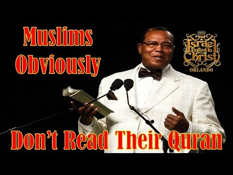 The Israelites: Muslims Obviously Don't Read Their Quran